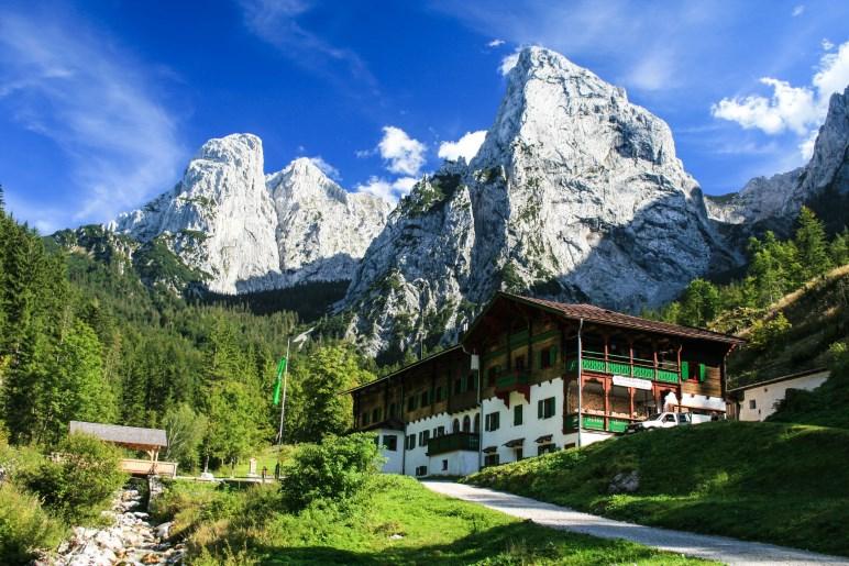 Das Anton-Karg-Haus im Kaisertal