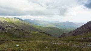 Im Lake District in England. An diesem Tag haben wir den Scafell Pike, den höchsten Berg Englands, bestiegen