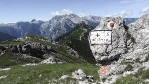 Auf dem Weg vom Carl-von-Stahl-Haus zum Hohen Brett. Berchtesgadener Alpen
