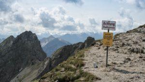 An der Karwendelgrube oberhalb von Mittenwald. Karwendel
