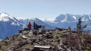 Oberhalb von Kössen. Chiemgauer Alpen