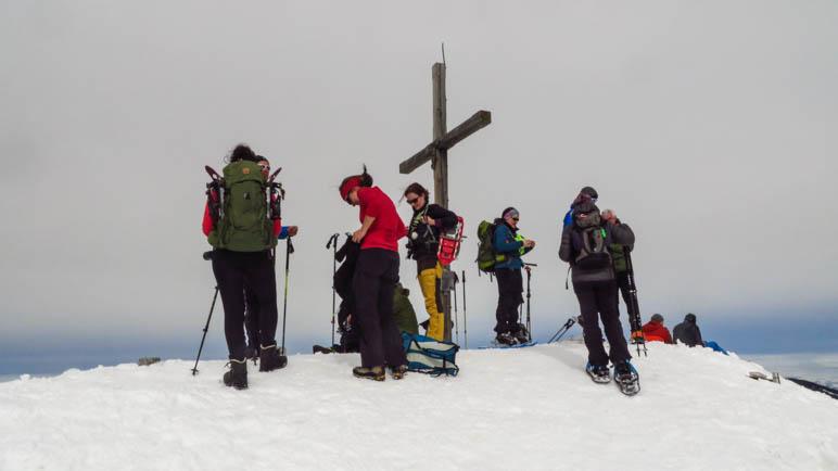 Blogger auf dem Gipfel des Schönkahler