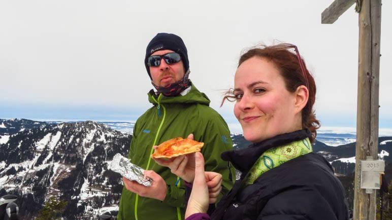 Die traditionelle Gipfelpizza