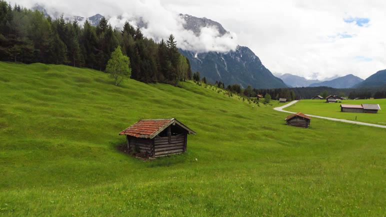 Buckelwiesen und Heustadl