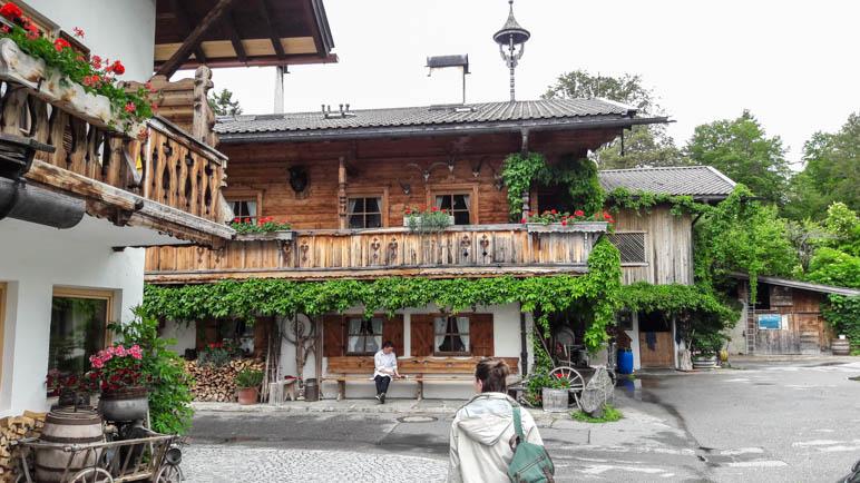 An der Gröbl-Alm oberhalb von Mittenwald
