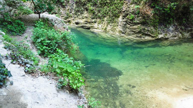 Der kleine See am Talschluss