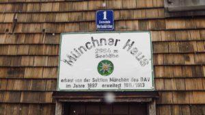 Das Münchner Haus ist eine echte Alpenvereinshütte