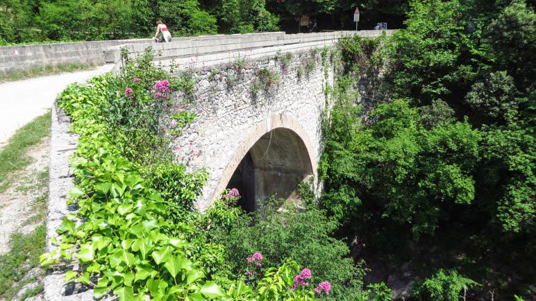 Die großeSteinbrücke im Papiermühlental