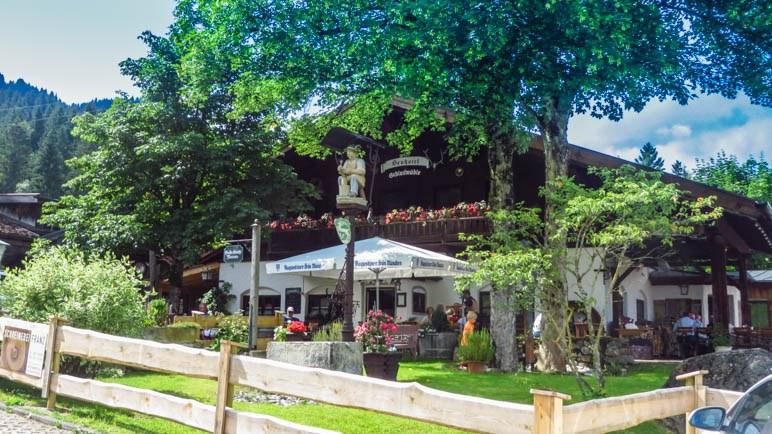 Der Gasthof Schleifmühle