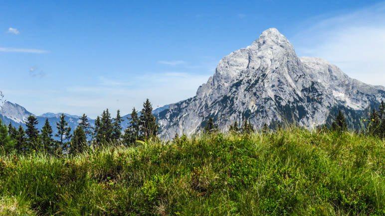 Der Große Ödstein. Was für ein mächtiger Felsberg