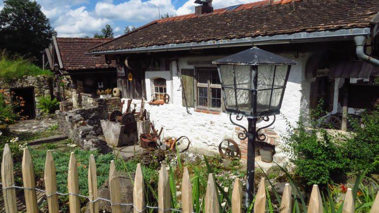 Das kleine Museum am Gasthof Schleifmühle