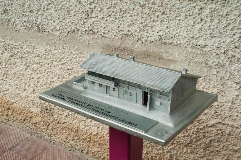 Das Tastmodell des Wagner-Hauses