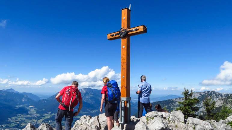 Auf dem Jenner in den Berchtesgadener Alpen