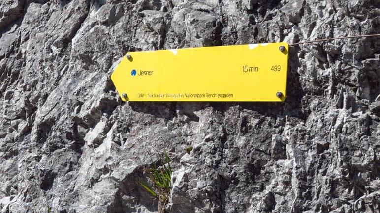 15 Minuten Aufstieg bis zum Gipfel - das klingt machbar