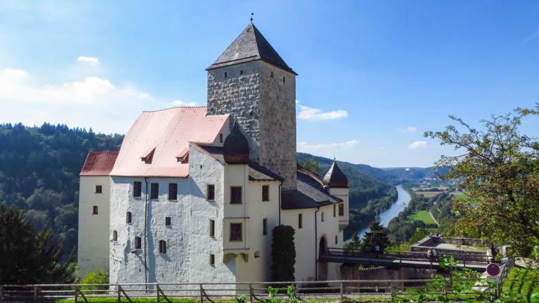 Auf der Burg Prunn
