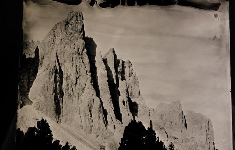 Sieht aus wie aus einem Film von Arnold Fanck, ist aber ein aktuelles Foto von Kurt Moser