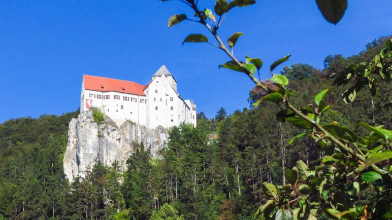 Burg Prunn, hierhin werde ich auf dem Altmühltal-Panoramaweg wandern