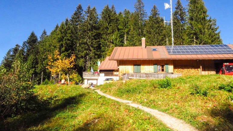 Die Lenggrieser Hütte