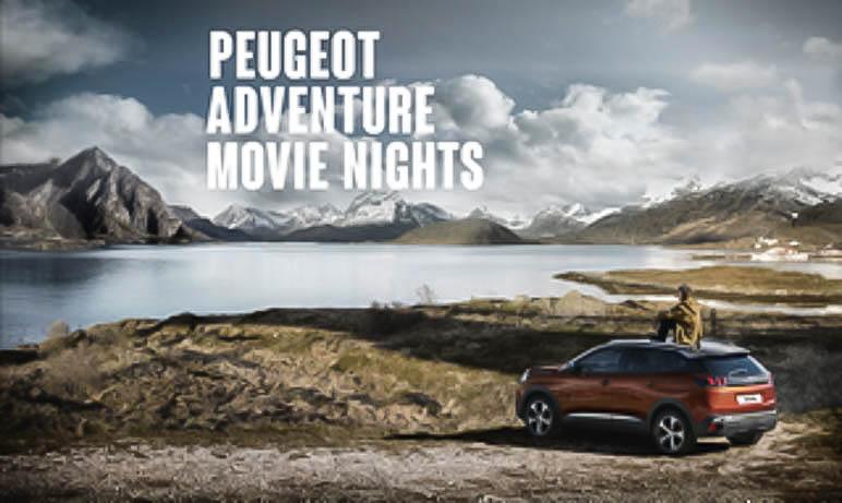 Gewinnt Karten für die Peugeot Adventure Movie Nights in Berlin und Hamburg