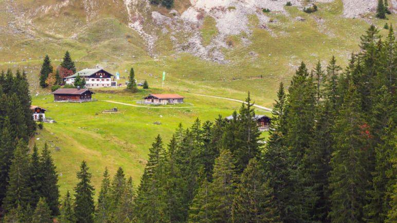 Die Schönfeldhütte, da hätte ich auch noch hingehen können