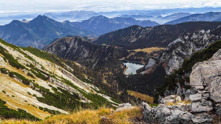 Der Soinsee und ein Bergpanorama vom Feinsten