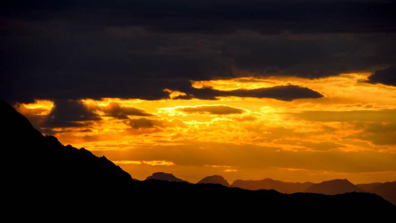 Sonnenaufgang am Gosaukamm