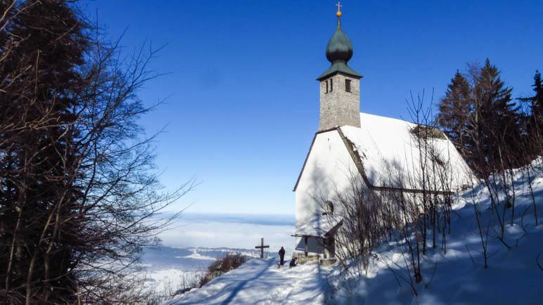 Ziel erreicht: Die Schnappenkirche