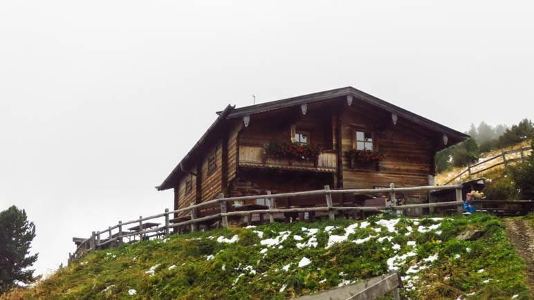 Das Berggasthaus Boscheben ist auch gut vom Patscherkofel aus erreichbar