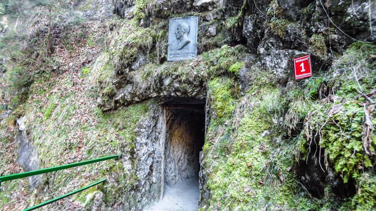 Der Eingang zur Breitachklamm