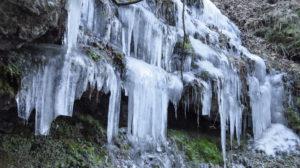 Vereiste Wasserfälle