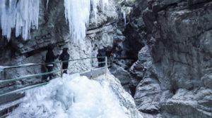 Eis und Fels in der Breitachklamm