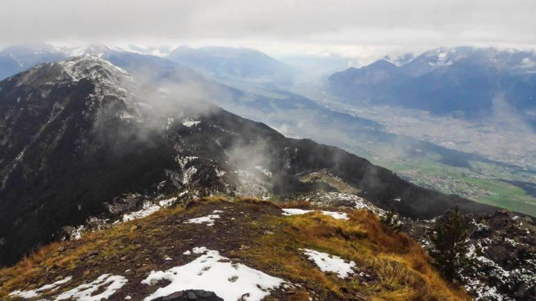 Der Blick von Der Viggarspitze Richtung Patscherkofel und Inntal