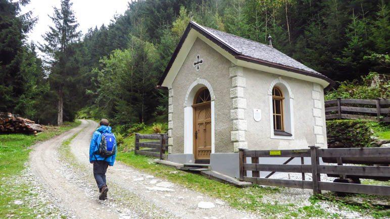 Die Lourdeskapelle oberhalb von Mühltal