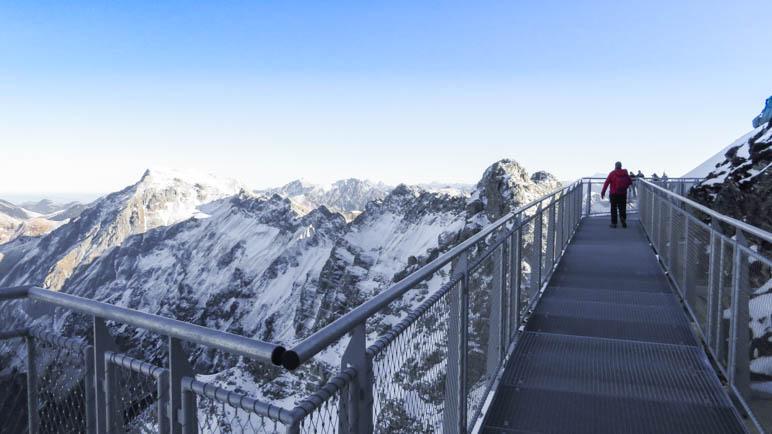Auf dem Nebelhorn-Nordwandsteig