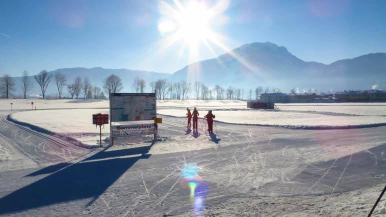 Langlaufen im Langlaufzentrum Kössen
