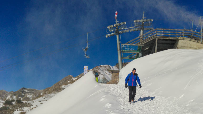 Am Nebelhorn in Oberstdorf