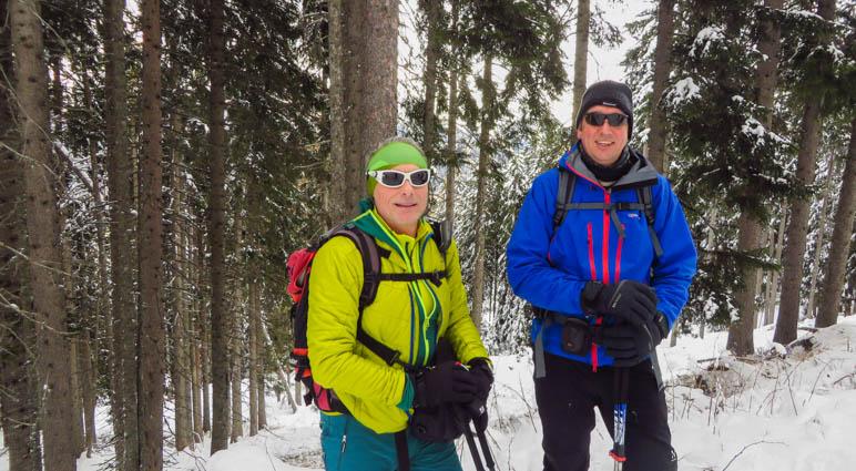 Die Antelao auf einer Schneeschuhwanderung im südtiroler Passeiertal. Mit dabei: Ernst von almenrausch.at