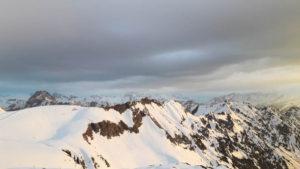 Abendstimmung am Nebelhorn