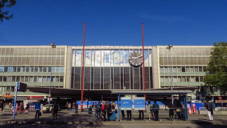 Am Ziel der Wanderung angelangt: Der Hauptbahnhof München