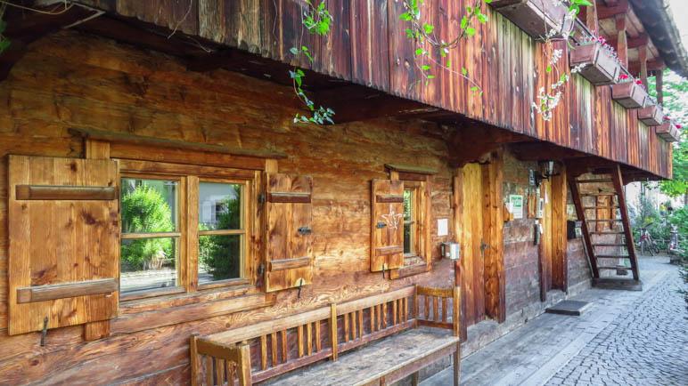Das schönste Haus auf der Wanderung durch München: Der Kriechbaumhof