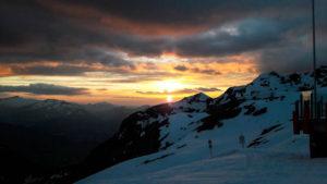 Spektakulärer Wolkenhimmel über Oberstdorf