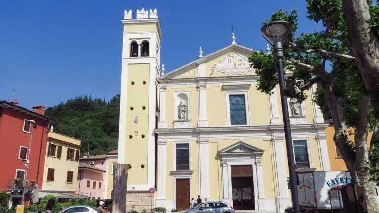Die Kirche Santa Maria Assunta in Garda