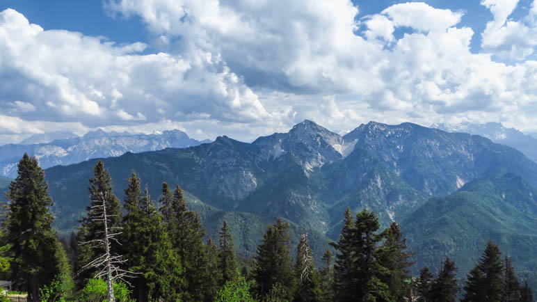 Bergpanorama am Rauschberggipfel
