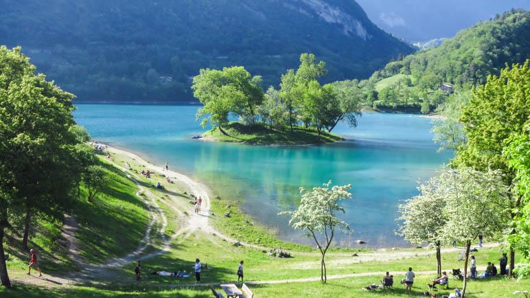 Der Lago di Tenno