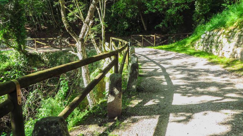Auf dem Weg von Canale zum Tennosee