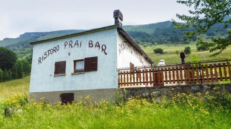 Ristoro Bar Prai - Mein Lemonsoda fällt aus, das Ristoro ist geschlossen
