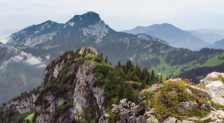Der Wendelstein, vom Breitenstein aus gesehen