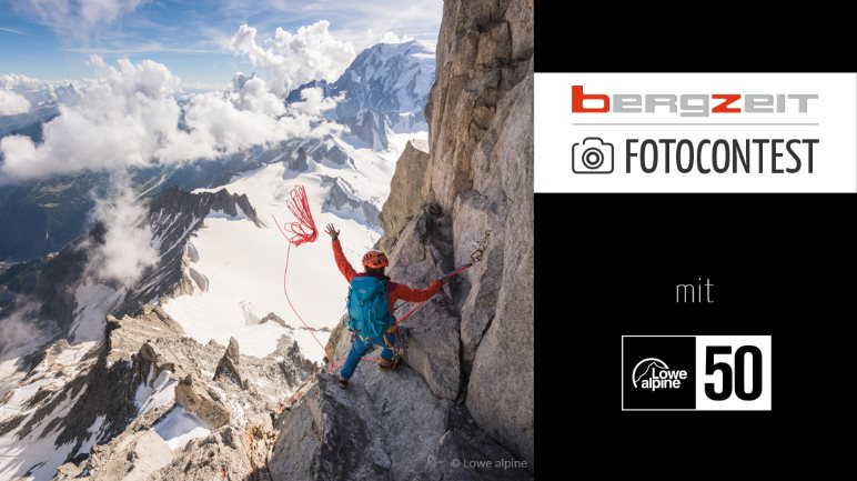 Gewinne ein Rucksack-Set mit Bergzeit und Lowe Alpine