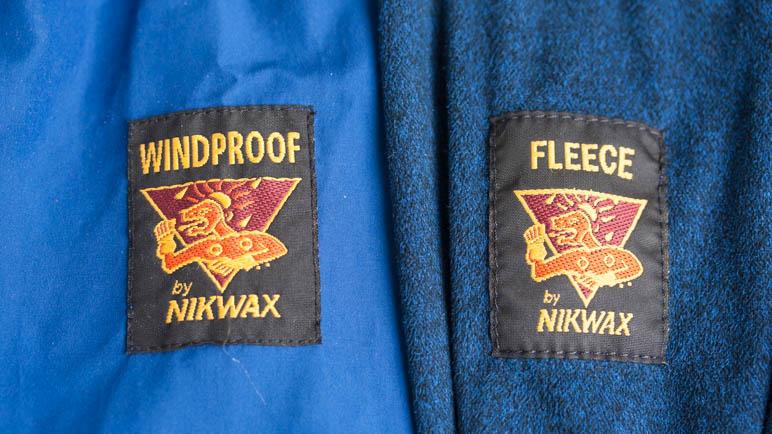 Páramo Bentu Jacken. Aussen Regen- und Windproof und Fleece für die Wärme