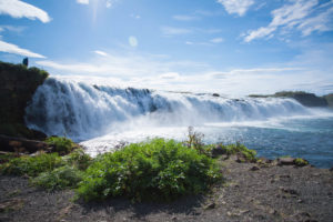 Der Faxi-Wasserfall im Golden Circle in Island